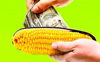 Как вывести деньги с карты «Кукуруза» через банкомат?